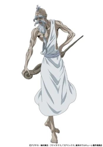 Zeus, um dos personagens de Record of Ragnarok
