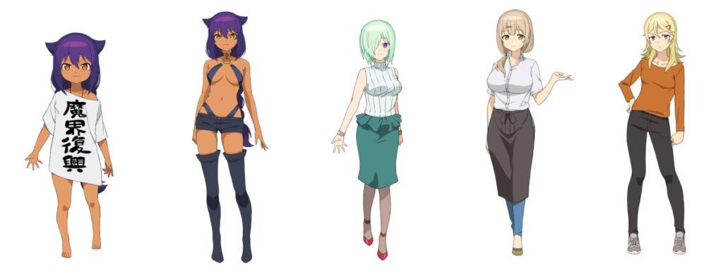 personagens de Jahy-sama wa Kujikenai