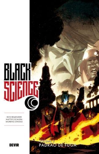 Black Science capa provisória - Lançamentos da Editora Devir