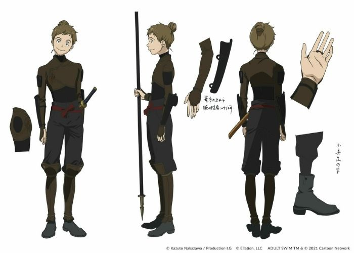 Enju, personagens de Fena: Pirate Princess