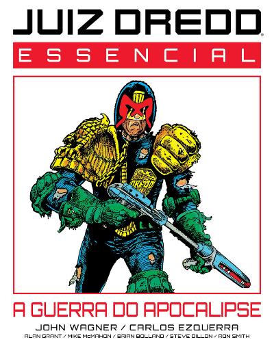 Juiz Dredd Essencial Vol.1: A Guerra do Apocalipse  - Lançamentos de agosto de 2021