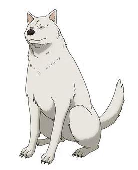 Inu / Dog, os personagens de Peach Boy Riverside