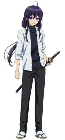 Mikoto, os personagens de Peach Boy Riverside