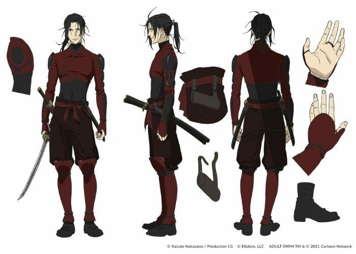 Yukimaru Sanada, personagens de Fena Pirate Princess