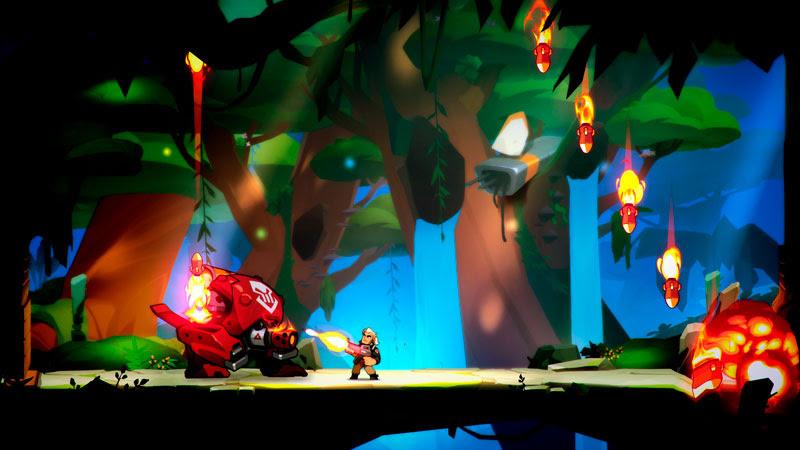 Blast Brigade traz explosiva aventura de ação em 2D para consoles e PC