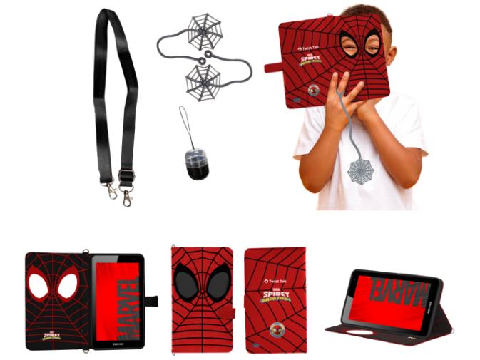 Positivo em parceria com a Disney lança tablet do Homem-Aranha