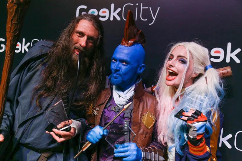 100% online e gratuito Geek City acontece em 30 e 31/10