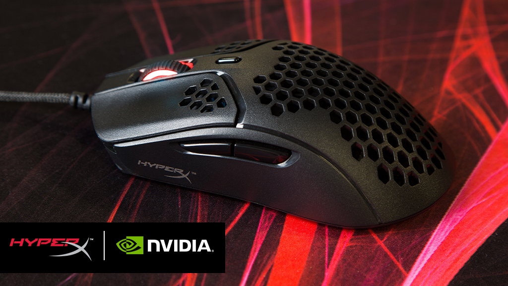HyperX anuncia compatibilidade do mouse Pulsefire Haste com NVIDIA Reflex